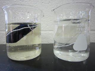 iodine and starch demo - semi-permeable membranes!