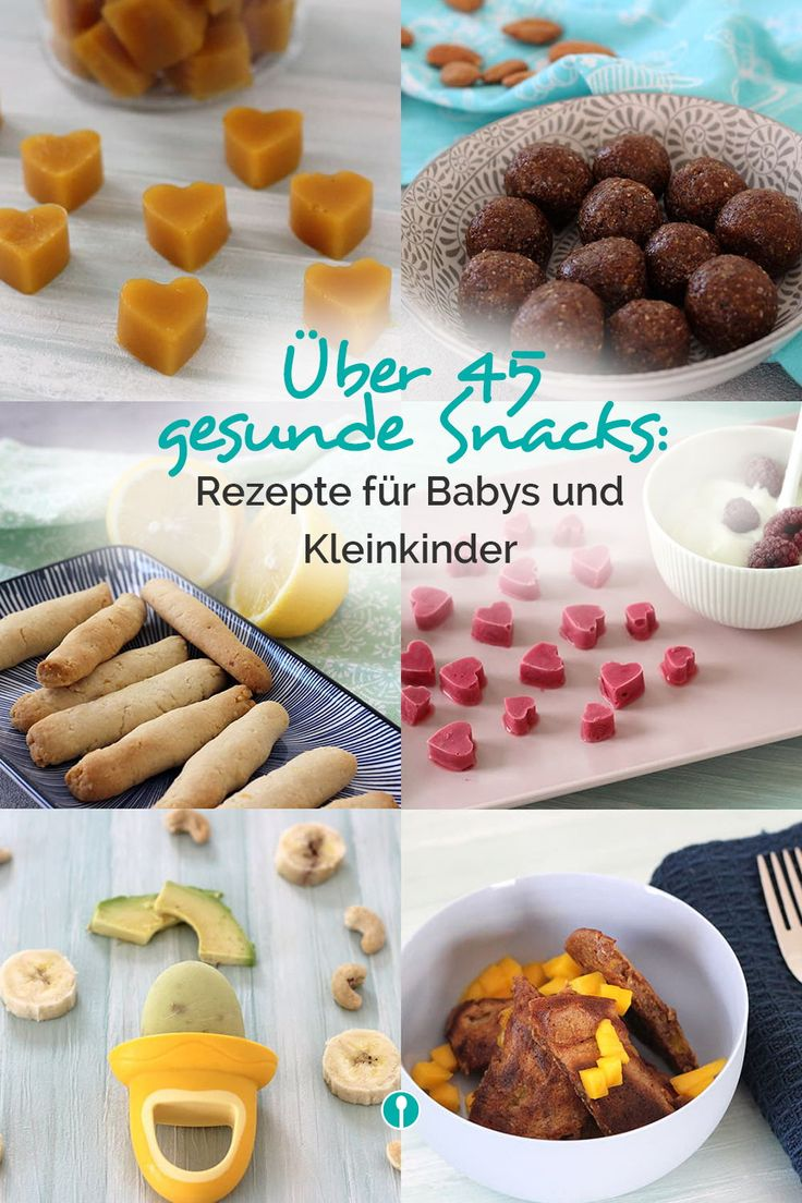 """""""Snacks, Baby"""" – DAS eBook für gesunde Snacks   – Zuckerfreie Rezepte für Babys und Kleinkinder"""