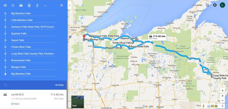 A road trip to see Wisconsin's coolest waterfalls? YES PLEASE. Here is a map and instructions on how to do it.