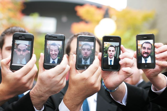 groomsmen Iphone photos...funny...have to do this one! :)