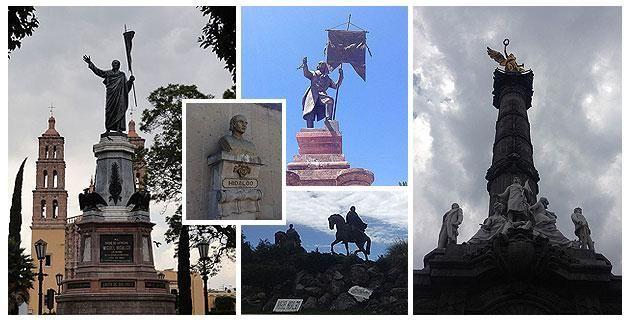 """13 monumentos dedicados al cura Miguel Hidalgo en México. Recorriendo distintos lugares de la República Mexicana nos encontramos con estos monumentos y estatuas dedicados a rendir homenaje a la figura del """"Padre de la Patria"""". ¡Descúbrelos!"""