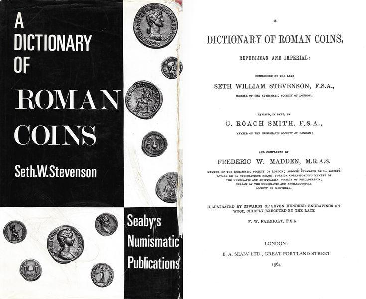 Stevenson: A Dictionary of Roman Coins