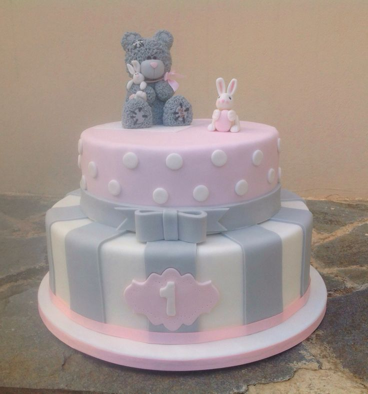 """Me To You"" Teddy Bear Cake"