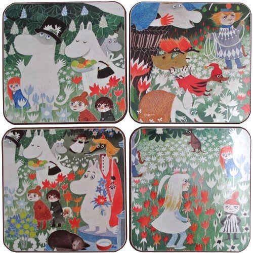 Moomin Coasters Set
