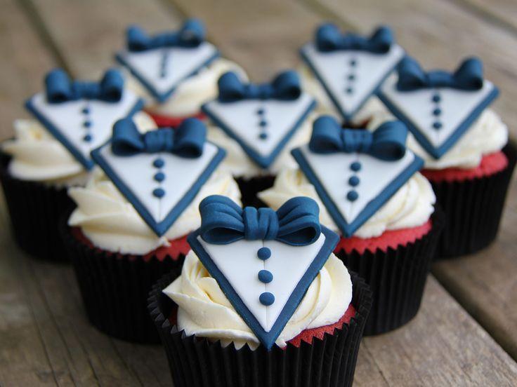 Cake Decorating Course Rockhampton : Cute red velvet tuxedo cupcakes Cakes, Cupcakes & Cake ...