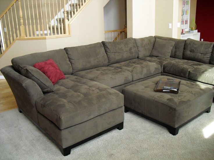 Best 25+ U shaped couch ideas on Pinterest U shaped sectional - deep couches living room
