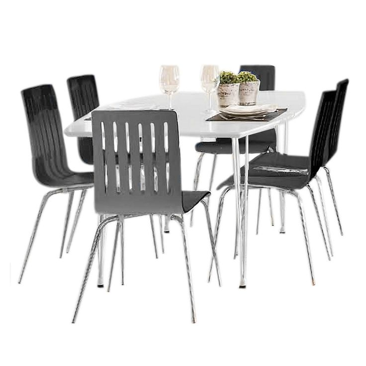 M s de 25 ideas incre bles sobre sillas negras en pinterest for Muebles falabella comedores