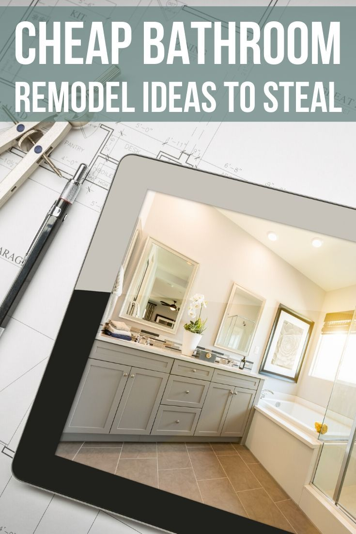 25 Inexpensive Bathroom Remodel Ideas To Steal Cheap Bathroom