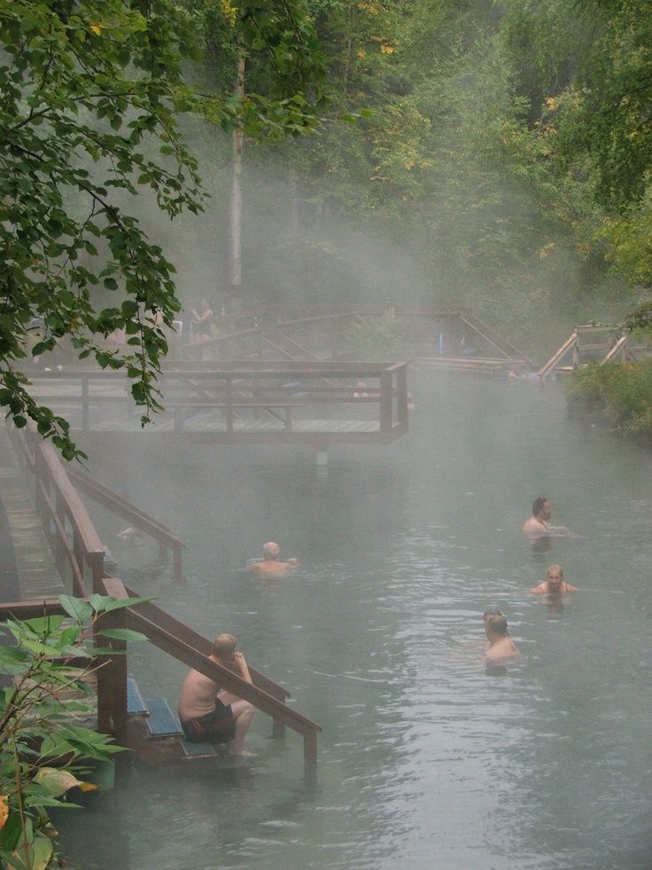 Liard Hot Springs Provincial Park - British Columbia, Canada