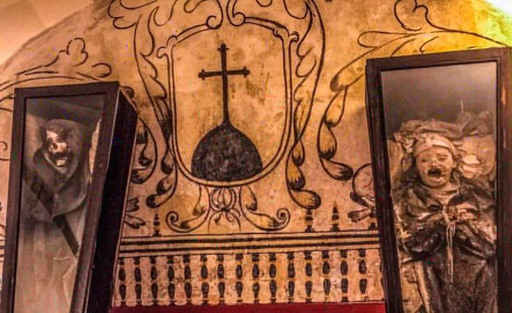Any trip to San Angel is going to be richly rewarded, but the Museo del Carmen, beyond a stunning collection of heart also has a dark secret.
