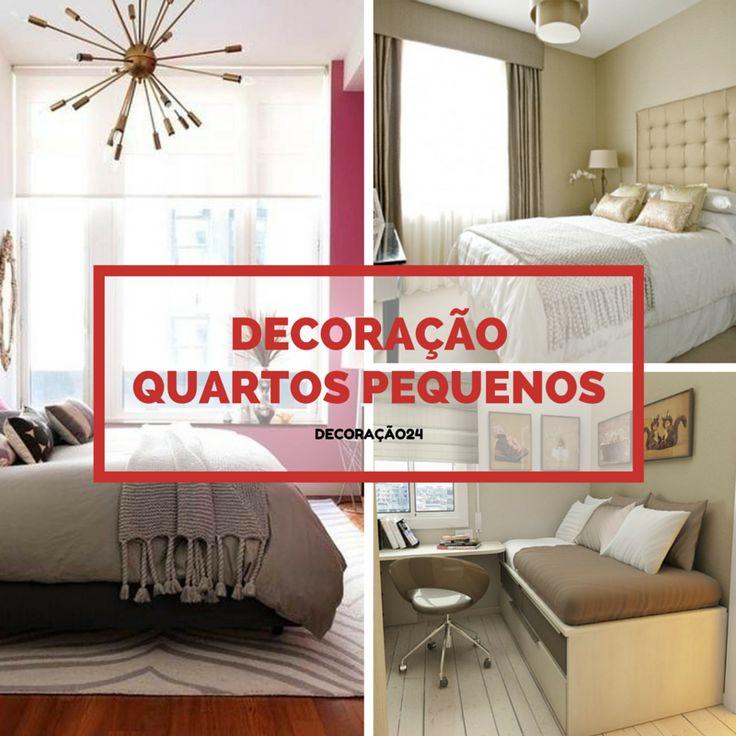 Decoração de Quartos Pequenos - http://decoracao24.com/decoracao-de-quartos-pequenos/