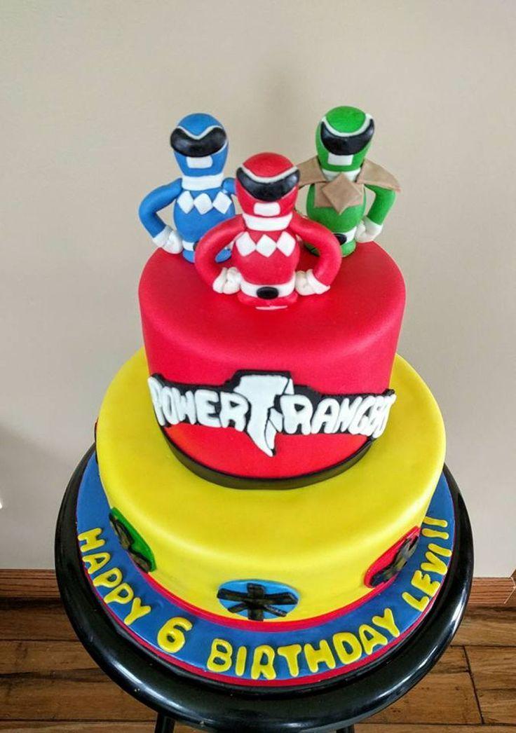 17 best ideas about Power Ranger Cake on Pinterest | Power ranger ...
