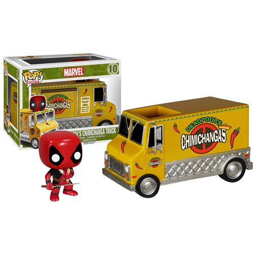 Deadpool Chimichanga Truck Pop! Vinyl Vehicle - Funko - Deadpool - Pop! Vinyl Figures at Entertainment Earth