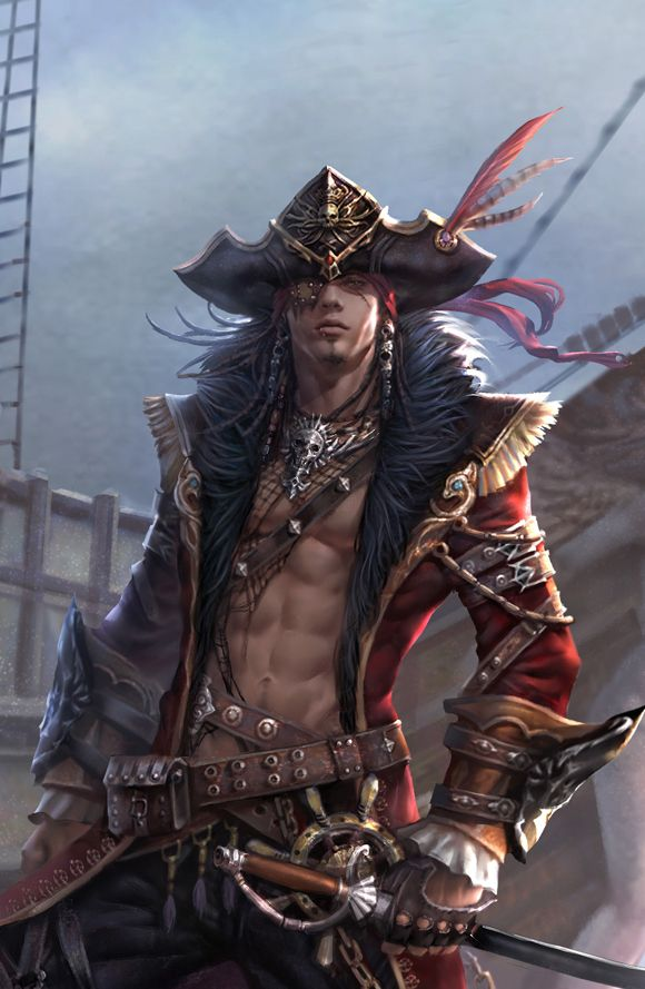 Here Ye be ladies a tasty morsel for you!!! Wow, he can plunder my treasure anytime!                                                                                                                                                                                 More