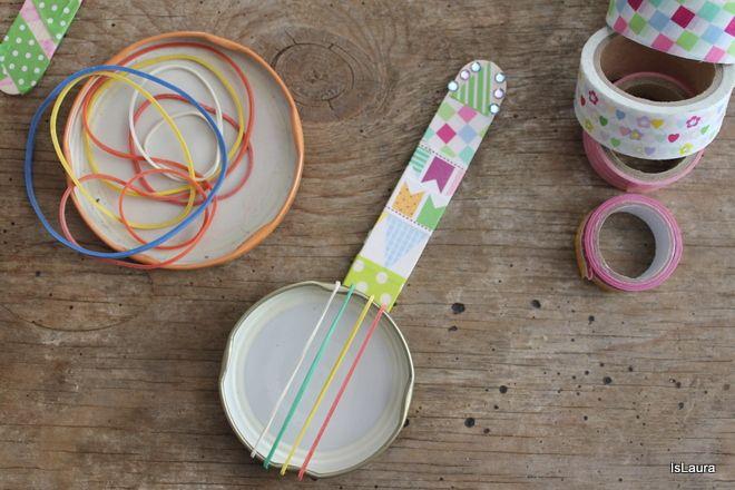 Come riciclare i tappi dei barattoli: strumenti musicali fai da te