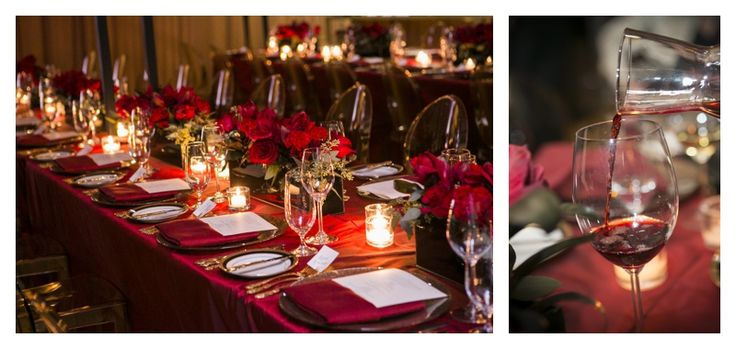 Grand Cru 2013 | #tablesetting #decorations #red #flowers #wine #creative #inspiration #ideas #crimsonphotos | Photography By: Crimson Photos