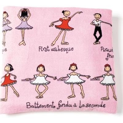 leuke handoek voor mijn ballerina