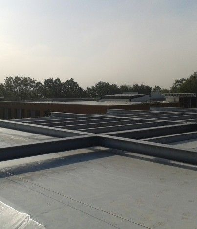 BriggsAmasco Has Installed A Complete Roofing System Comprising More Than  3,000m2 Of Single Ply Membrane