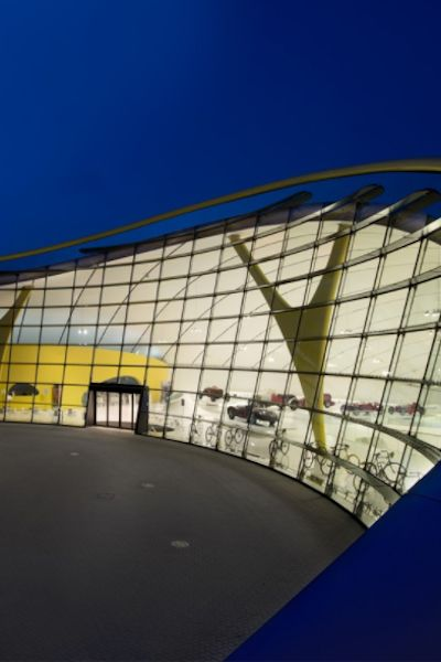 Enzo Ferrari Museum | Maranello Modena | designed by Jan Kaplicky of Future Systems