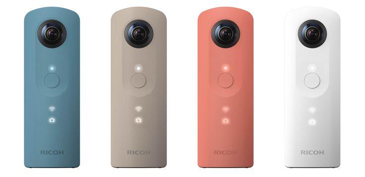 Fotocamera a 360° per dispositivi mobile Ricoh
