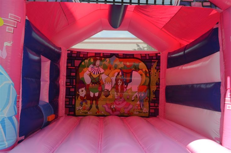 Princess Funtastique Combo | Jumping Castle Hire Sydney | Jumping Rascals | 2 Yves Pl, Minchinbury NSW 2770 | (02) 9625 220