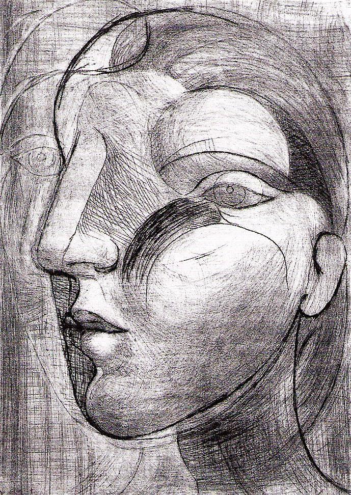 Pablo Picasso - Tête de Marie-Thérèse - 1933