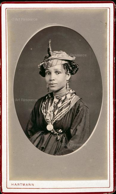 Woman from St Pierre, Martinique, c.1870