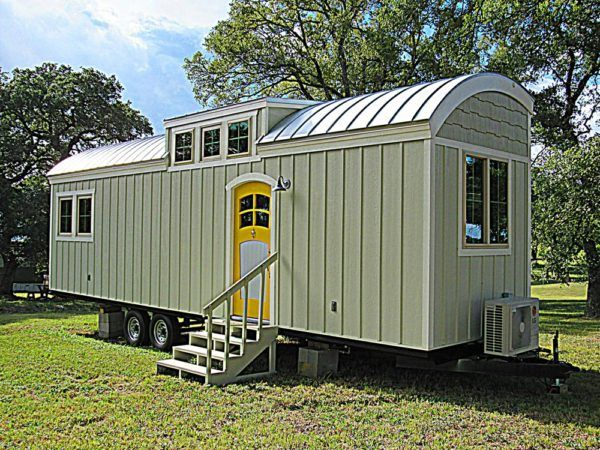 One Of A Kind 33ft Tiny Home On Wheels With Main Floor Bedroom