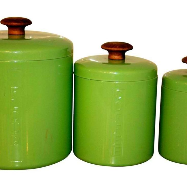 Lime Green Kitchen Canister Sets