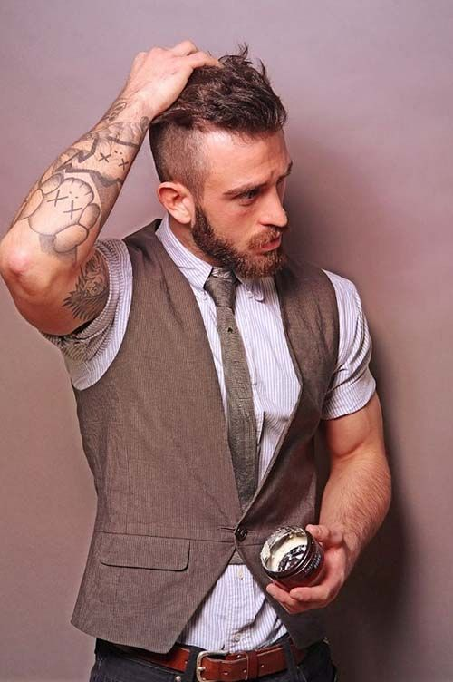 hairstyles for men 2014 with receding hairline ⋆ Gorgeous