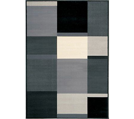 City Furniture: Ming Black 8X10 Area Rug