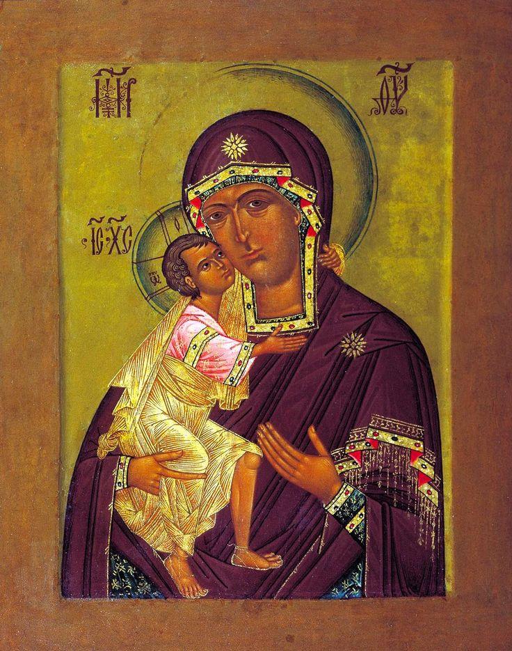 Icoana Maicii Domnului din Mănăstirea Sfântul Teodor