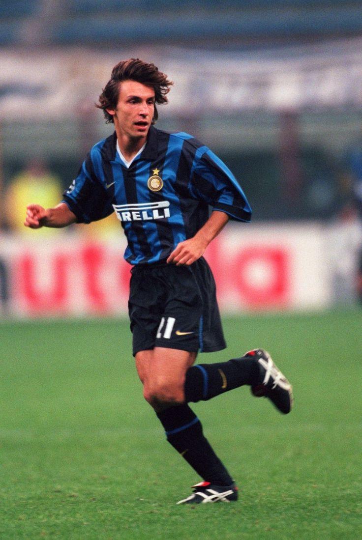 Andrea Pirlo Inter Milan avant Milan AC