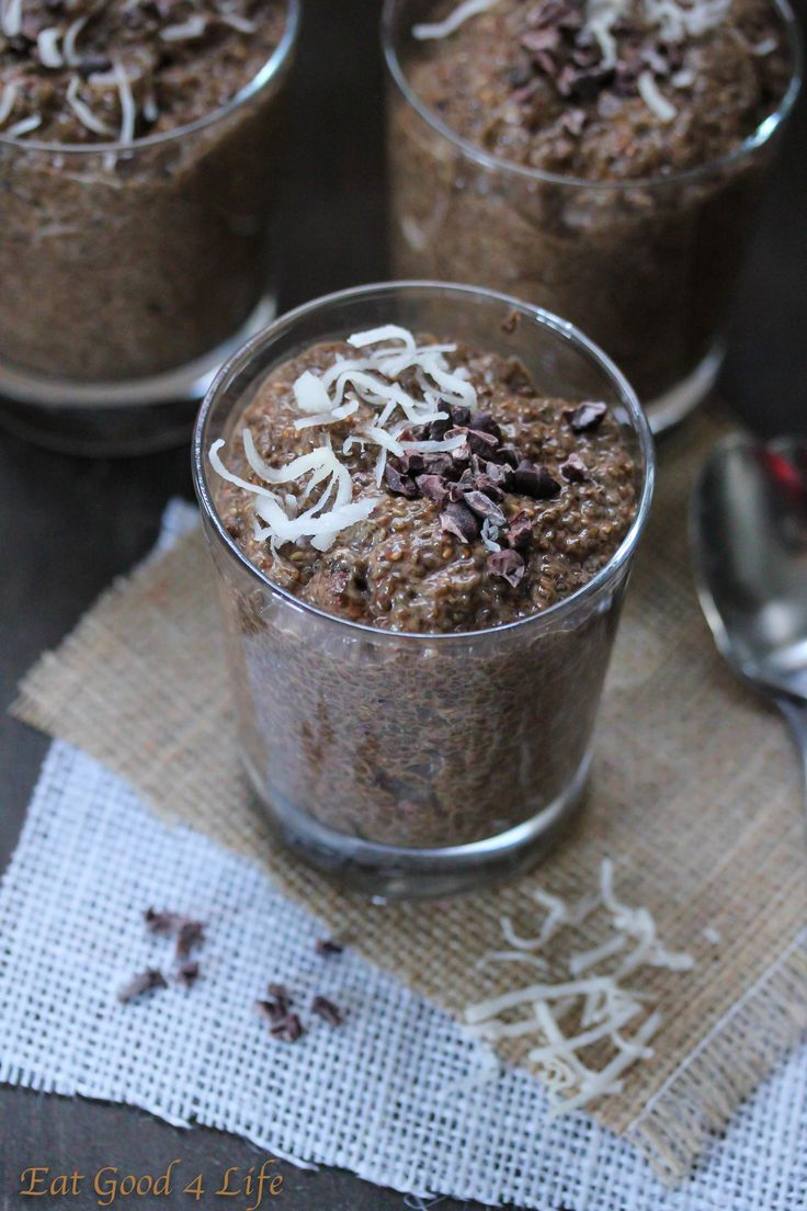 Here you have it, another variation of chia seed pudding, coffee and chocolate chia seed pudding to be exact. This one is also amazing. If you like coffee you will like this one.