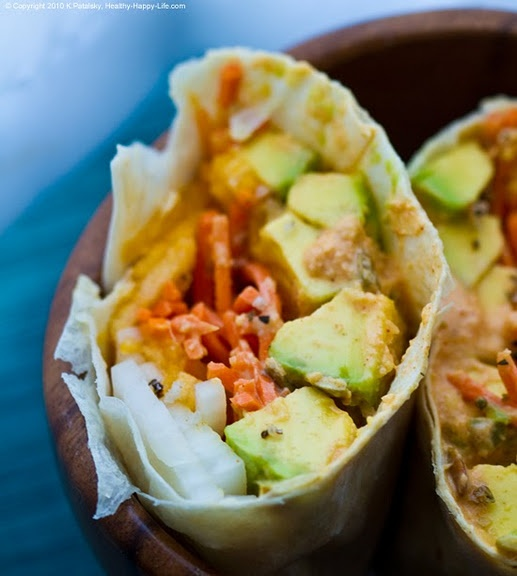 florida avocado summer wrap... looks yummy