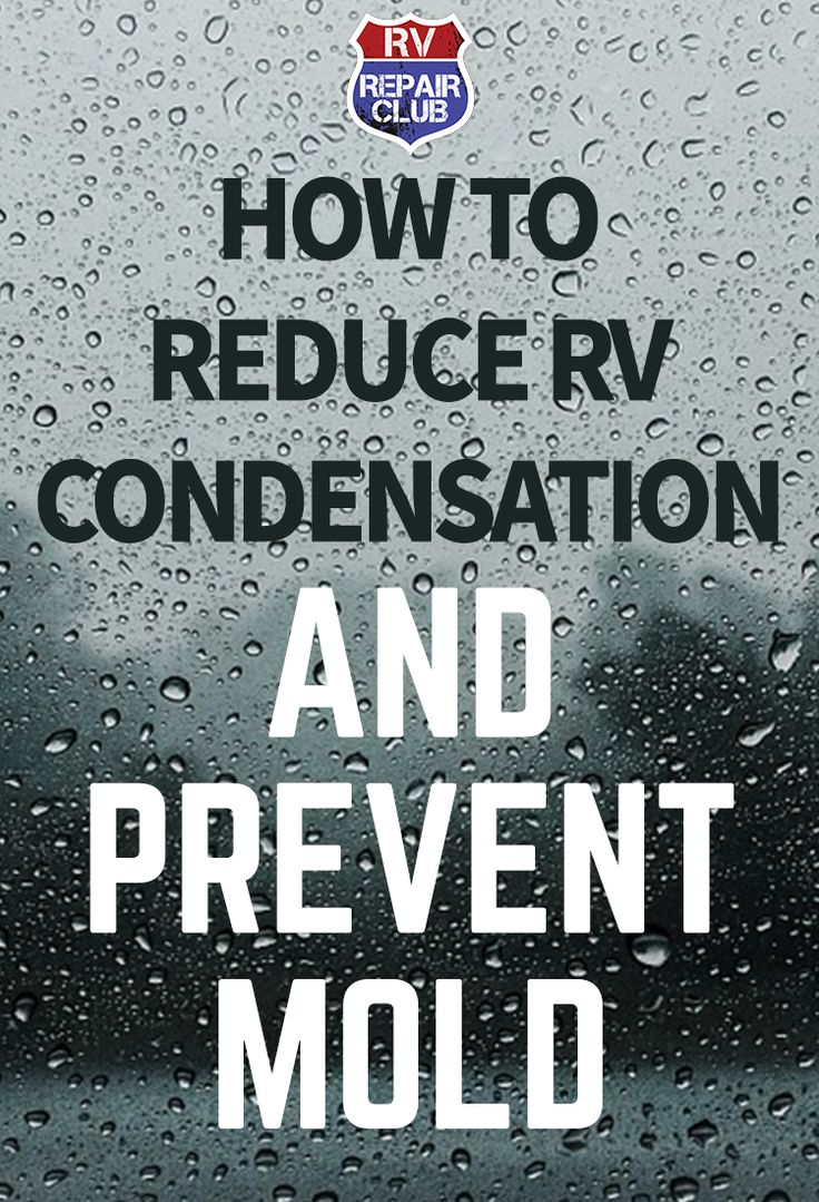 There are many different moisture sources inside your RV that you can control, which will help reduce the formation of RV condensation. For example, heating up food releases water vapors into the air and increases humidity levels. When cooking, make sure to cover all pots and pans to reduce water vapors escaping. Also, hang wet clothes outside to dry vs. inside. This way the water vapors from the fabric do not get caught inside your RV.