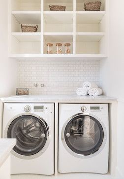 Santa Monica - Beach Style - Laundry Room - los angeles - by Haefele Design