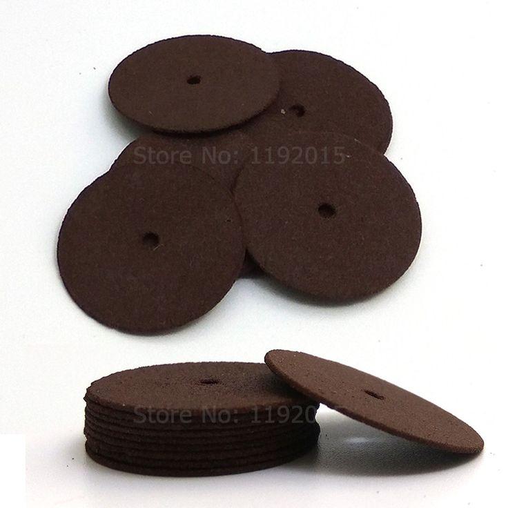 10pcs Dremel Accessories 24mm Abrasive Disc Cutting Discs Reinforced Cut Off Grinding Wheels Rotary Blade Disc Tool Dremel Parts
