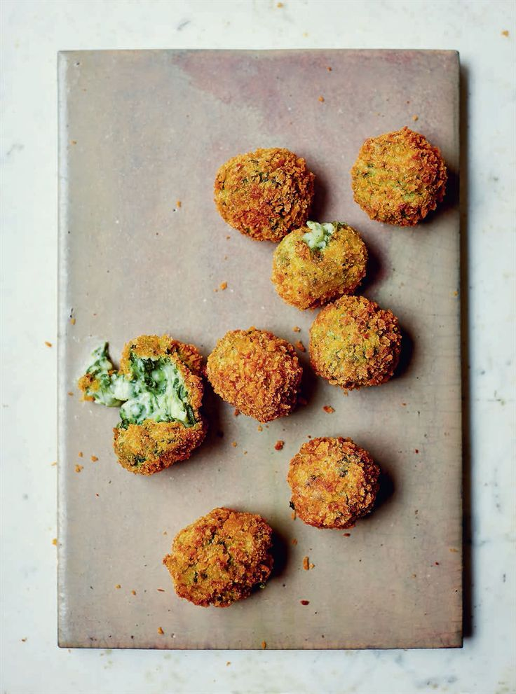 Spinach & goat's cheese croquetas recipe from Basque by Jose Pizarro | Cooked.com