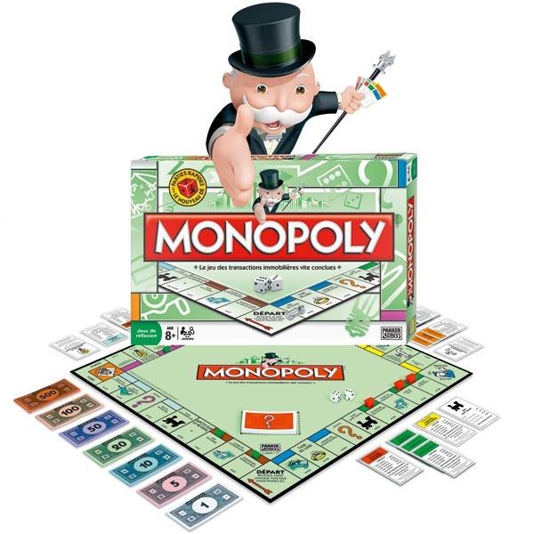 Jeux de société - Monopoly Standard Euro - à partir de 8 ans