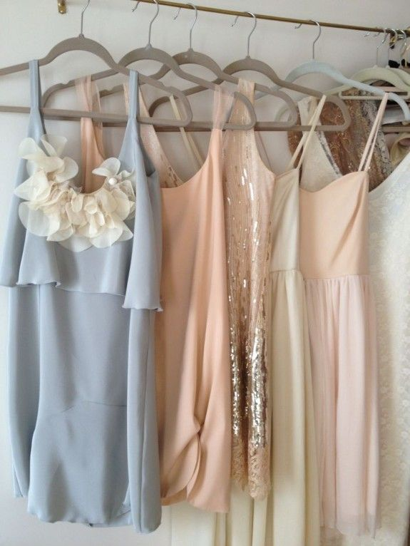 mismatched bridesmaids dresses: how to pull off the look flawlessly // now on the #fabulousfrocks blog! #bridesmaids #wedding