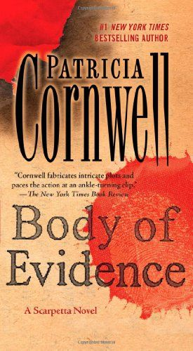If you like forensic/suspense novels, you have to read the Scarpetta series. Patricia Cornwell is a wonderful writer and I can never put her books down.