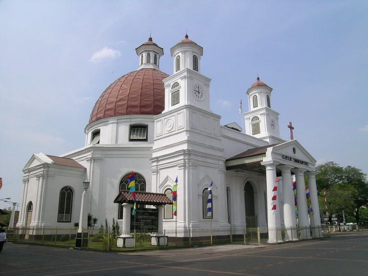 Gereja Blenduk, oldest church in Semarang, Indonesia