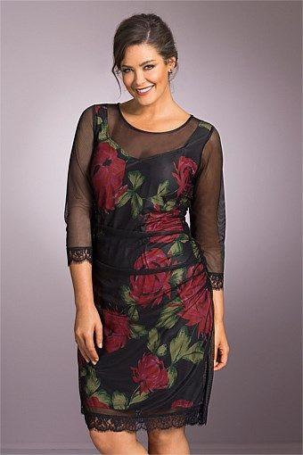 Dresses | Buy Women's Dresses Online - Sara Mesh Overlay Dress