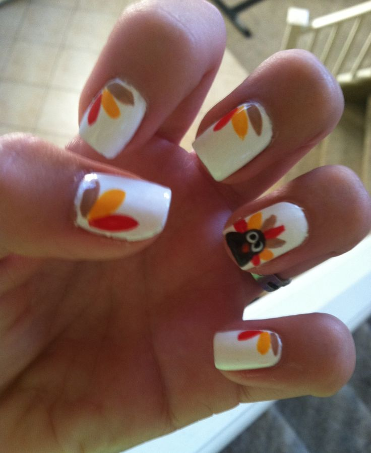17 best Nails images on Pinterest | Holiday nails, Autumn nails and ...