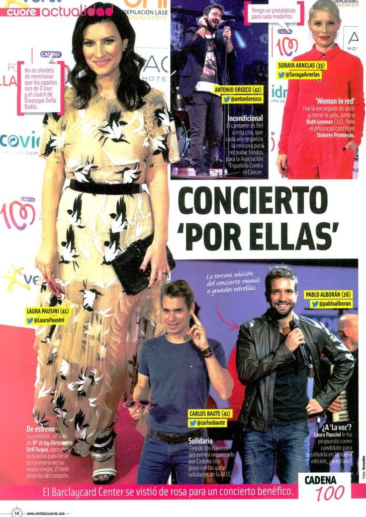 #LauraPausini Cuore Spain