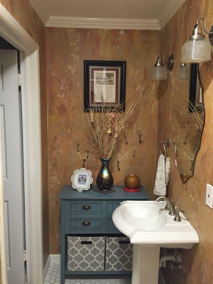 179 best images about bathroom ideas on pinterest narrow for Venetian plaster bathroom ideas