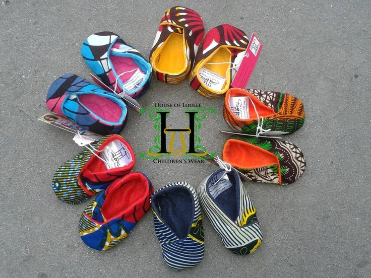 Naija D.E.E.V.A.S.: Fashion We Love: House of Loulee's African Inspired Pieces for Children Baby shoes in wax prints