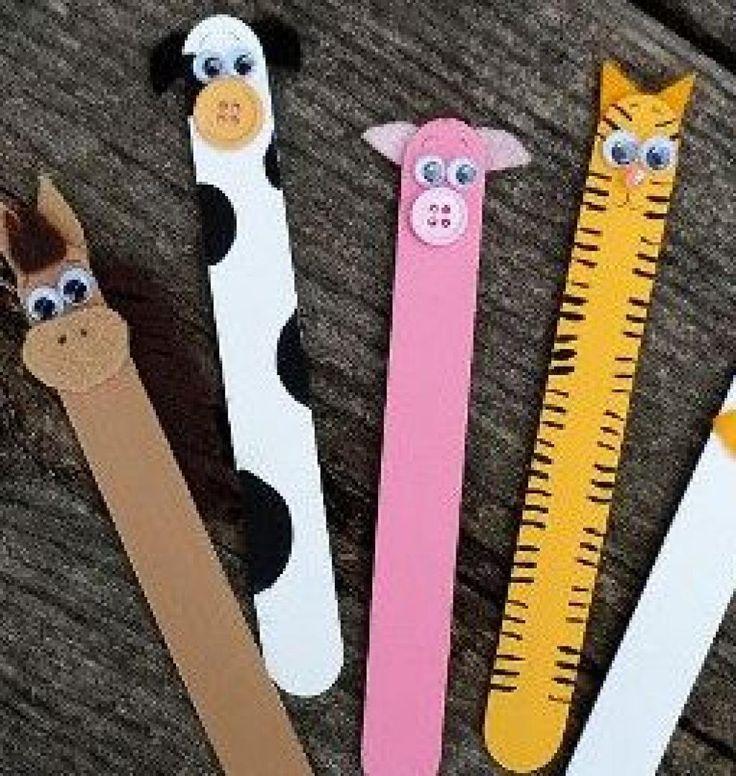 7 idées amusantes pour bricoler avec des bâtonnets de sucettes glacées ! - Bricolages - Trucs et Bricolages