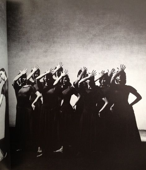 "dance created by Martha Graham - photographer Barbara Morgan - from the book ""Sixteen Dances in Photographic Sequence"" 1941"